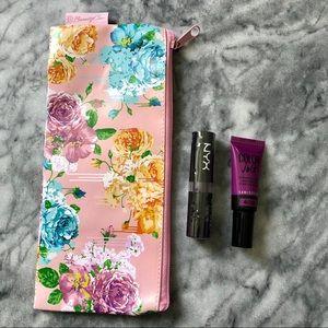 NYX & Maybelline Purple Lippies + Beautycon Bag